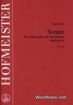 Danzi Franz - Sonate Fur Violoncello Oder Bassethorn Und Klavier