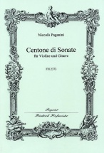 Paganini Niccolo - Centone Di Sonate - Violon and Guitare