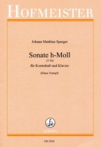 Sperger J.m. - Sonate H-moll - Contrebasse and Piano