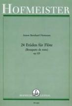 Furstenau A.b. - 24 Etudes Op.125 - Bouquets De Tons - Flute