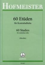 Meschke Dieter - 60 Etüden Für Kontrabasstuba