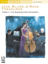 Jazz Blues And Rags Treasures Volume 2 - Piano Solo