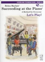 Marlais Helen Succeeding At Piano Lesson And Technique Grade 2a + Cd - Piano Solo