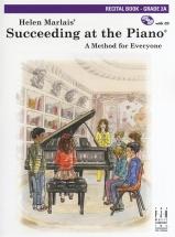 Marlais Helen Succeeding At The Piano Recital Grade 2a + Cd - Piano Solo