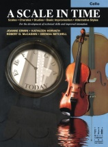 Erwin Horvath Mccashin Mitchell A Scale In Time - Cello