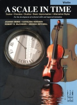 Erwin Horvath Mccashin Mitchell A Scale In Time - Violin