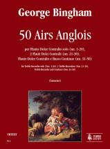 Bingham George - 50 Airs Anglois