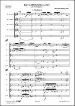 Maury J.-m. - Estrambotic Cant - Quintette De Clarinettes