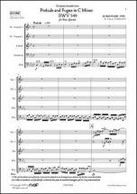 Bach J.s. - Prelude Et Fugue En Do Mineur Bwv 549 - Quintette De Cuivres