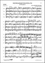 Brahms J. - Danse Hongroise No. 13 - Quatuor De Flutes