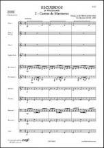 Severac D. De - Recuerdos - 2 - Cantos De Marineros - Ensemble A Vent