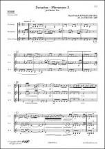 Kuhlau D.f. - Sonatine - Mouvement 2 - Trio De Clarinettes