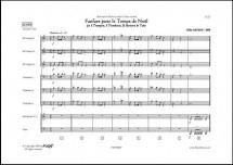 Arcens G. - Fanfare Pour Le Temps De Noel - Octuor De Cuivres