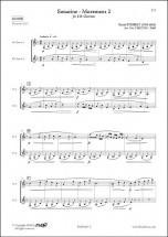 Steibelt D. - Sonatine - Mouvement 2 - Duo De Clarinettes