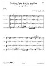 Schumann R. - Le Joyeux Laboureur - Quatuor De Saxophones