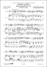 Baermann C. - Andante Con Moto - Etude Opus 63 No. 15 - Clarinette