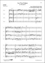 Cervantes I. - Los Tres Golpes - Quatuor De Flutes