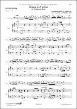 Marcello B. - Sonate En La Mineur - Trombone and Piano