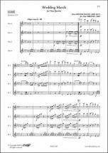 Mendelssohn F. - Marche Nuptiale - Quatuor De Flutes