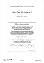 Saint-saens C. - Sonate Opus 167 - Mvt 3 - Clarinette Et Piano