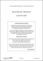 Saint-saens C. - Sonate Opus 167 - Mvt 4 - Clarinette Et Piano
