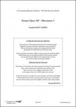Saint-saens C. - Sonate Opus 167 - Clarinette Et Piano