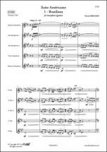 Bernard P. - Suite Americaine - 1 - Brasiliana - Quintette De Saxophones