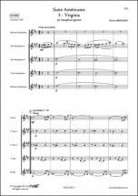 Bernard P. - Suite Americaine - 3 - Virginia - Quintette De Saxophones