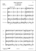 Bernard P. - Suite Americaine - 4 - Mexicana - Quintette De Saxophones