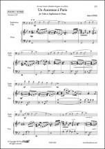 Lopez A. - Un Automne A Paris - Euphonium Et Piano