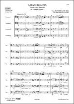 Schubert F. - Salve Regina - Quatuor De Trombones