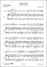 Naulais J. - Fleur De Sol - Euphonium Et Piano