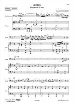 Saint-leger P. - Learsi - Euphonium Et Piano
