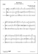 Anonymous - 5 Madrigaux Anglais - Trio De Trombones