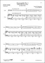 Satie E. - 3 Gymnopedies - Violoncelle Et Piano