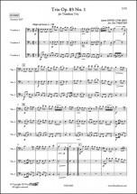 Hook J. - Trio Opus 83 No. 1 - Trio De Trombones