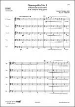Satie E. - Gymnopedie No. 1 - Trompette Et Quatuor A Cordes