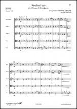 Haendel G. F. - Air De Rinaldo - Trompette Et Quatuor A Cordes