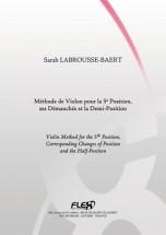 Labrousse-baert S. - Methode De Violon Pour La 5e Position Et Ses Demanches - Violon Solo