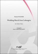 Wagner R. - Marche Nuptiale De Lohengrin - Violon Et Piano