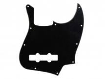 Fred S Guitar Parts Jazz Bass Black 3-ply Allparts