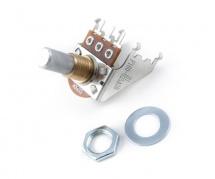 Fender 250k Audio Taper Snap-in Potentiometer, Solid Shaft