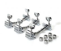 Gretsch Guitars Tuners, Electromatic Series Vintage, Chrome (jeu De 6 Cordes)