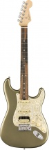 Fender American Elite Stratocaster Hss Shawbucker Satin Jade Pearl Metallic
