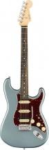 Fender American Elite Stratocaster Hss Shawbucker Satin Ice Blue Metallic