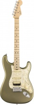 Fender American Elite Stratocaster Hss Shawbucker Mn Satin Jade Pearl Metallic