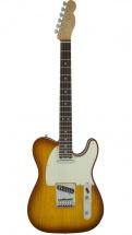 Fender American Elite Telecaster Rw Tobacco Sunburst + Etui