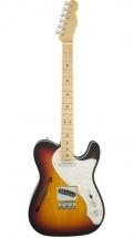 Fender American Elite Telecaster Thinline Mn 3 Color Sunburst + Etui