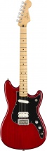 Fender Duo-sonic Hs Mn Crimson Red Transparent