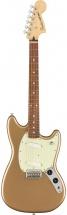 Fender Mustang Pf Firemist Gold